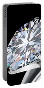 Brilliant Cut Diamond Portable Battery Charger