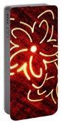 Brilliant Floral Abstract Portable Battery Charger