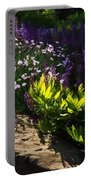 Brilliant Green Sunshine - Impressions Of Spring Portable Battery Charger
