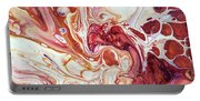 Bringing Into Life Fragment 2. Fluid Acrylic Painting Portable Battery Charger