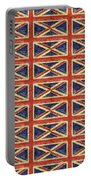 British Flag Collage One Portable Battery Charger
