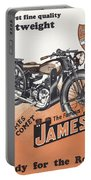British James Comet Motorcycle  1948 Portable Battery Charger
