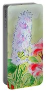 British Wild Flowers Portable Battery Charger