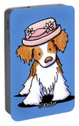 Brittany Girl Portable Battery Charger