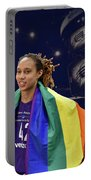 Brittney Griner Lgbt Pride 4 Portable Battery Charger