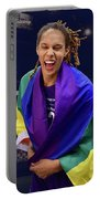 Brittney Griner Lgbt Pride 6 Portable Battery Charger