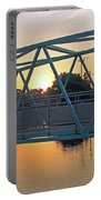 Broad Ripple Sunrise Portable Battery Charger