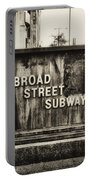 Broad Street Subway - Philadelphia Portable Battery Charger