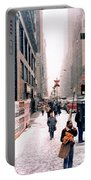 Broadway And 42nd Street 1985 Portable Battery Charger