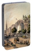 Broadway In The Nineteenth Century Portable Battery Charger
