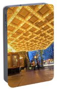 Broadway Theater Marquee Lights In Downtown Portable Battery Charger