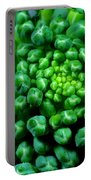 Broccoli Head Portable Battery Charger