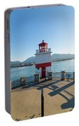 Brockton Point Lighthouse At Stanley Park Portable Battery Charger