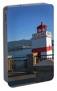 Brockton Point Lighthouse In Vancouver Bc Portable Battery Charger