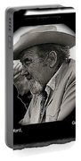 Broderick Crawford Ted Degrazias Gallery In The Sun Tucson Arizona 1969-2008 Portable Battery Charger