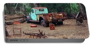 Broken Down Pickup Truck Portable Battery Charger