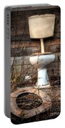 Broken Toilet Portable Battery Charger by Carlos Caetano