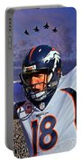 Broncos Win Super Bowl Fifty Portable Battery Charger