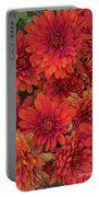 Bronze Chrysanthemums Portable Battery Charger