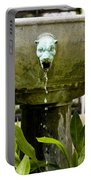 Bronze Civit Head Fountain Portable Battery Charger