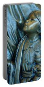 Bronze Onieda Indian Girl Portable Battery Charger