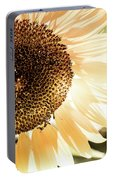 Bronze Sunflower Portable Battery Charger