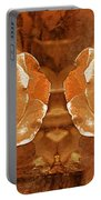 Bronzed Portable Battery Charger
