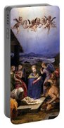 Bronzino Agnolo Painting Portable Battery Charger