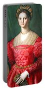 Bronzino's A Young Woman And Her Little Boy Portable Battery Charger