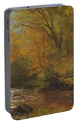 Brook In Woods Portable Battery Charger