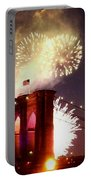 Brooklyn Bridge Celebration Portable Battery Charger
