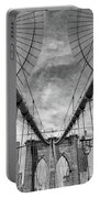 Brooklyn  Bridge Suspension Cables Portable Battery Charger