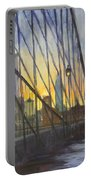 Brooklyn Bridge Wires Portable Battery Charger