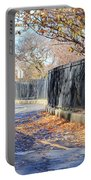Brooklyn Park In Fall Portable Battery Charger