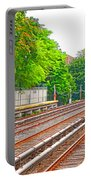 Brooklyn Subway Train Station 1 Portable Battery Charger