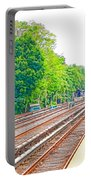 Brooklyn Subway Train Station 2 Portable Battery Charger
