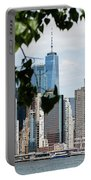 Brooklyn View Of One World Trade Center  Portable Battery Charger