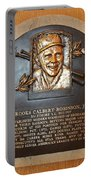 Brooks Robinson Hall Of Fame Plaque Portable Battery Charger