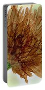 Brown Abstract  Portable Battery Charger