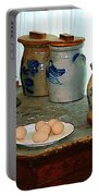 Brown Eggs And Ginger Jars Portable Battery Charger