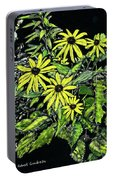 Brown-eyed Susans II Portable Battery Charger