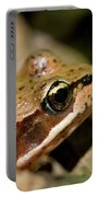 Brown Frog In The Forest - Western Oregon Portable Battery Charger
