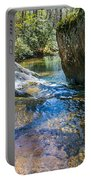 Brown Mountain Forest Portable Battery Charger