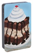 Brownie Ice Cream Sandwich Portable Battery Charger