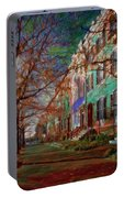 Brownstones At Lafayette Park Portable Battery Charger