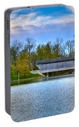 Brownsville Covered Bridge Portable Battery Charger