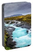 Bruarfoss In The Gloom Portable Battery Charger