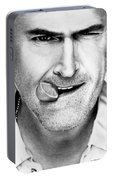 Bruce Campbell Portable Battery Charger