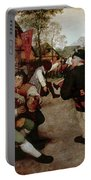Bruegel, Peasant Dance Portable Battery Charger