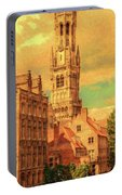 Bruges Belgium Belfry - Dwp2611371 Portable Battery Charger